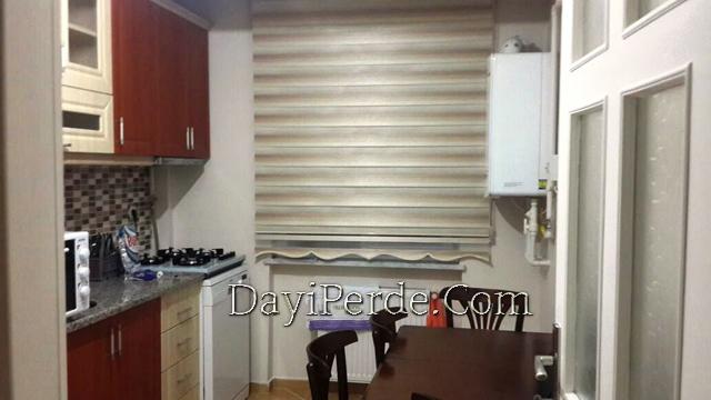 Mutfak Zebra Perde Modeli 19